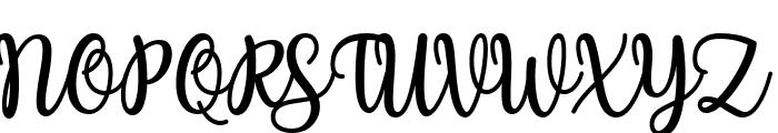 Charilla Font UPPERCASE