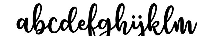 Charilla Font LOWERCASE