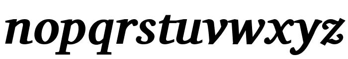 Charis SIL Bold Italic Font LOWERCASE