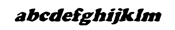 Charlemagne Condensed Italic Font LOWERCASE