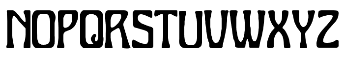 Charleston Font UPPERCASE