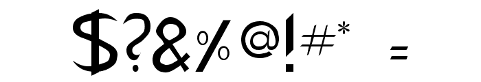 CharlieChan Regular Font OTHER CHARS