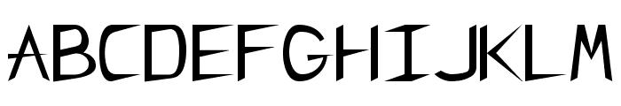 CharlieChan Regular Font UPPERCASE