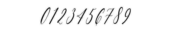 Charlotte Calligraphy Slant Font OTHER CHARS