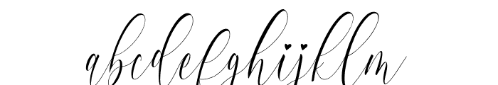 Charlotte Calligraphy Font LOWERCASE
