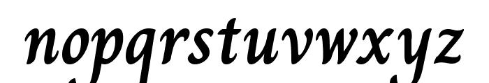 Charm Bold Font LOWERCASE