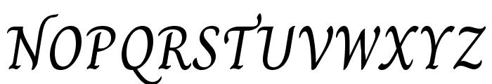 Charm Regular Font UPPERCASE
