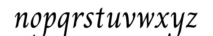 Charm Regular Font LOWERCASE
