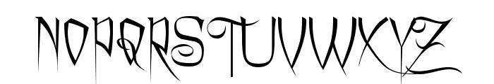 Charming Font Font UPPERCASE