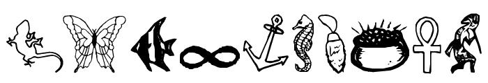 CharmingSymbols Font OTHER CHARS