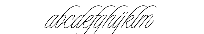 Charmline Script Personal Use Font LOWERCASE
