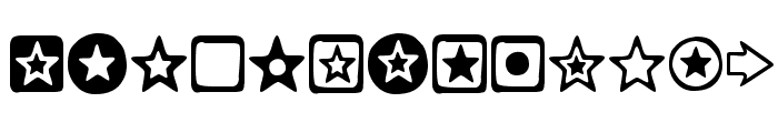 Charms Font LOWERCASE