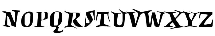 Charon Font UPPERCASE