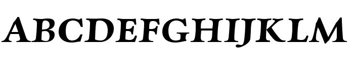Charpentier Renaissance Demi Re Oblique Font UPPERCASE