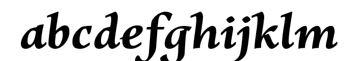 Charpentier Renaissance Demi Re Oblique Font LOWERCASE