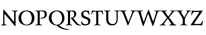Charpentier Renaissance Pro Font UPPERCASE