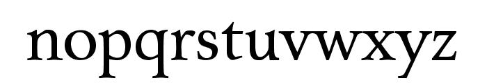 Charpentier Renaissance Pro Font LOWERCASE
