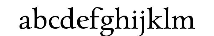 CharpentierRenaissancePro-Regul Font LOWERCASE