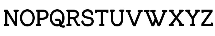 Charrington Bold Font UPPERCASE
