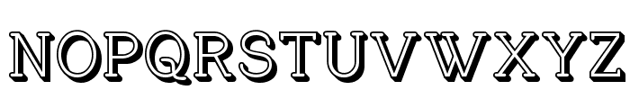 Charrington Posh Font UPPERCASE