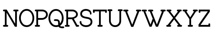 Charrington SemiBold Font UPPERCASE