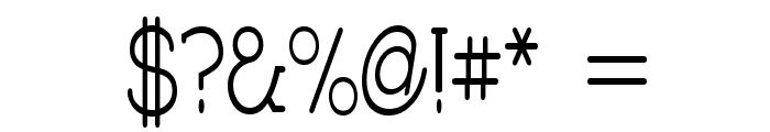 Charrington Strewn Font OTHER CHARS