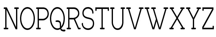 Charrington Strewn Font UPPERCASE