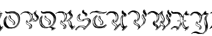 Charterwell No2 Font UPPERCASE