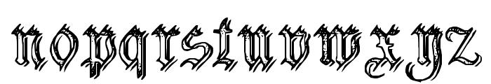 Charterwell No2 Font LOWERCASE