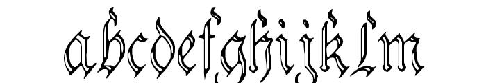 Charterwell No3 Font LOWERCASE