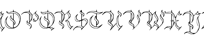Charterwell No4 Font UPPERCASE