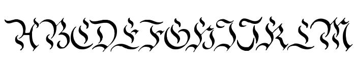 Charterwell Font UPPERCASE