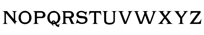 Chartrand Font UPPERCASE