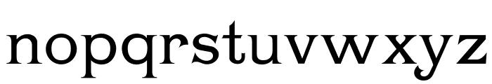 Chartrand Font LOWERCASE