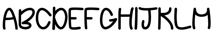 ChasingStars Font UPPERCASE