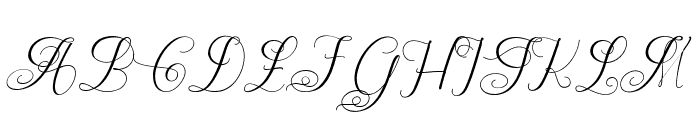 ChateauxdesOlives Font UPPERCASE