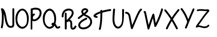 Chattagirie Bold Font UPPERCASE