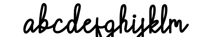 Chattagirie Bold Font LOWERCASE