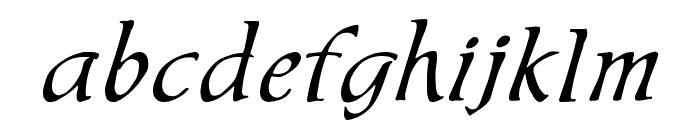 Chaucer Regular Font LOWERCASE