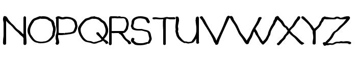 Chavenir Bold Font UPPERCASE