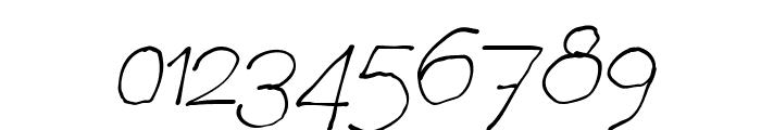 Chavenir Italic Font OTHER CHARS