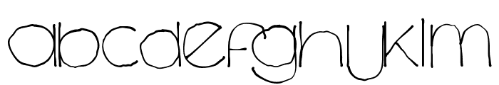 Chavenir Lower Case LC Font UPPERCASE