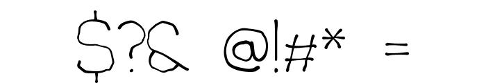 Chavenir Font OTHER CHARS