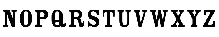 CheGuevara Golden Serif Font UPPERCASE