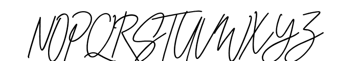 CheGuevara Sign Alt Font UPPERCASE