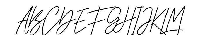 CheGuevara Sign Regular Font UPPERCASE