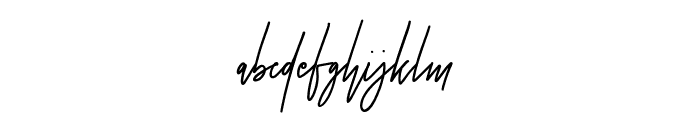 CheGuevara Sign Regular Font LOWERCASE