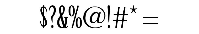 CheGuevara Text Serif Font OTHER CHARS