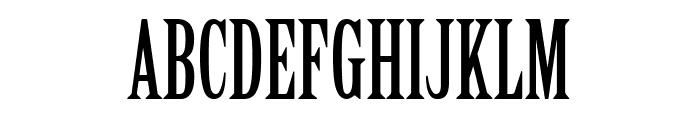 CheGuevara Text Serif Font UPPERCASE