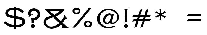 CheGuevara Tittle Regular Font OTHER CHARS
